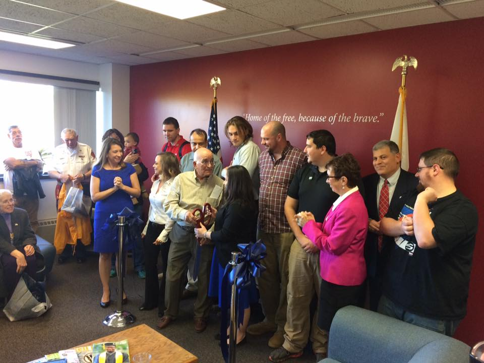 Ribbon Cutting Ceremony at a VRC. Used with permission from the author.