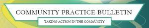 Community Practice Bulletin Logo