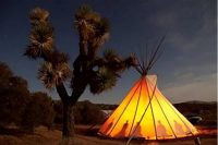 Photograph of a teepee
