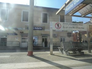 Photograph of Ponte Galeria Train Station