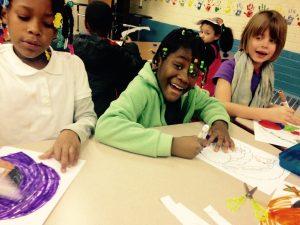 Photograph of kids in an afterschool program