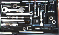 Photograph of hardware tools