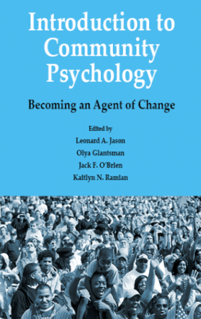 image of the new Community Psychology Textbook
