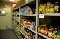 Photograph of a food bank
