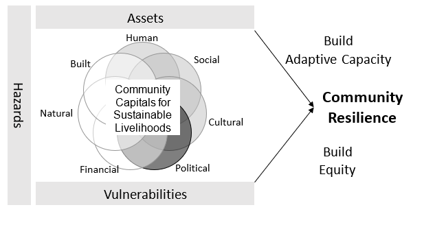 Figure 1. The Community Resilience Framework