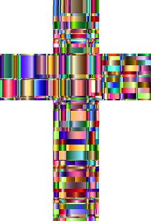 Image of colorful cross