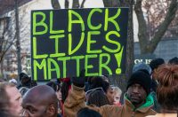 Photograph of a Black Lives Matter Protest