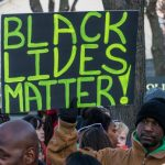 Phootgraph of a Black Lives Matter Protest Sign