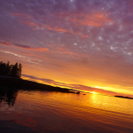 Photograph of a Sunset