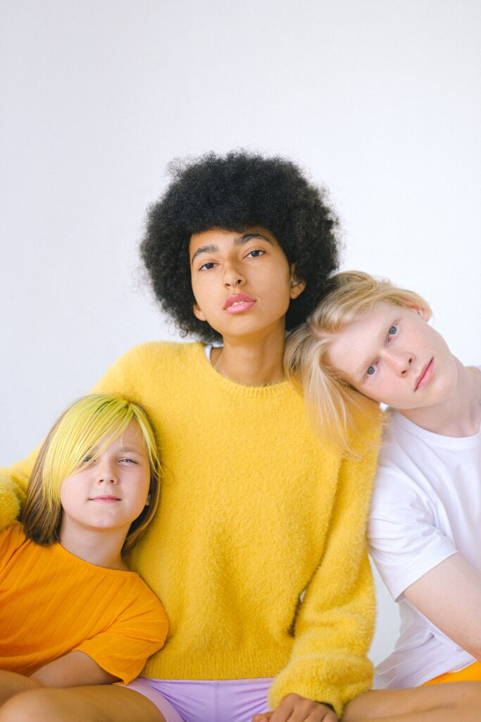 photograph of 3 teenage boys