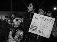 Photograph of protest