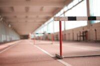Photograph of jumping hurdles